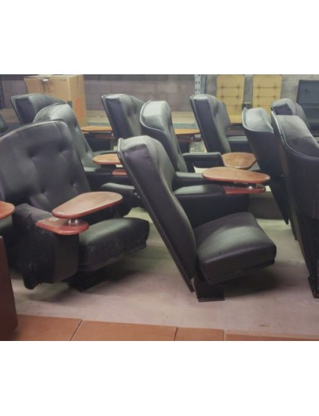 Dinner Movie Theater Chairs - used
