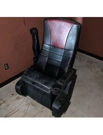 Premium Black Leatherette Kansas City Movie Theater chairs