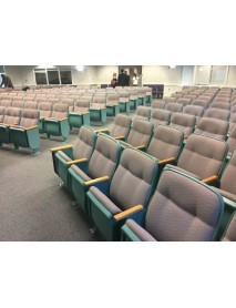 Lot of 30 used auditorium chairs - place of worship very clean very nice