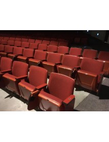 1000 Red auditorium or HOME MOVIE THEATER SEATING chairs with tablet arms