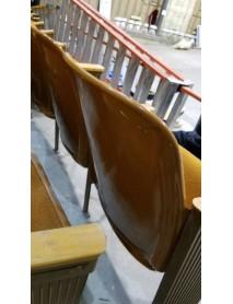 185 Antique Movie Theater Auditorium chair - Yellow